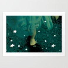Alice's Escapades ~ Alice and the Stars Art Print