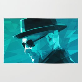 Heisenberg Who Knock Stained Glass Rug