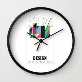 Design, it'll slowly kill you Wall Clock