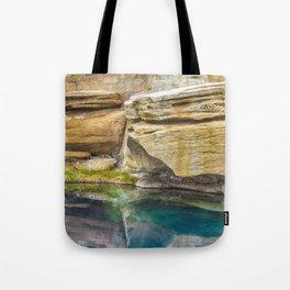 Spring Azure Tote Bag