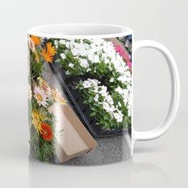 Farmer's Market Flower Flats Coffee Mug