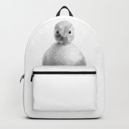 Black and White Duckling Backpack
