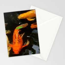 Fish Pond Stationery Cards