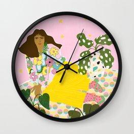 Retro Life Wall Clock