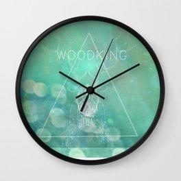 WOODKING Wall Clock