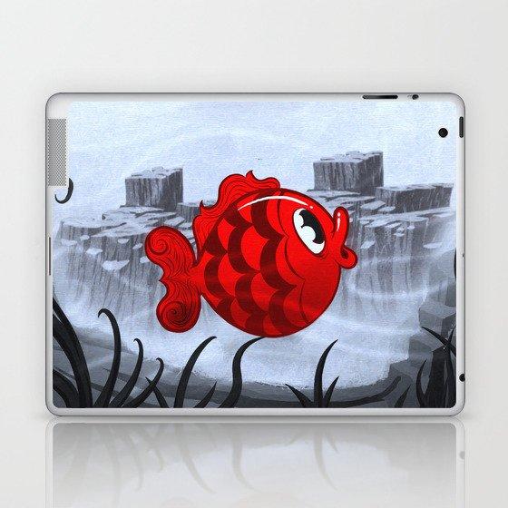 RED & BLUE Laptop & iPad Skin