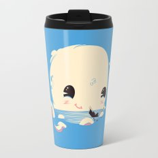 Adorable Octopus Battle (Bold) Travel Mug