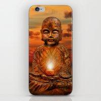 buddha iPhone & iPod Skins featuring Buddha by teddynash