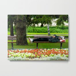 Just Chillin Metal Print