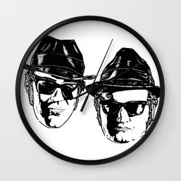 The Blues Brothers - Can You See The Light? Wall Clock