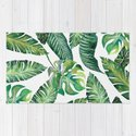 Jungle Leaves, Banana, Monstera #society6 by wheimay
