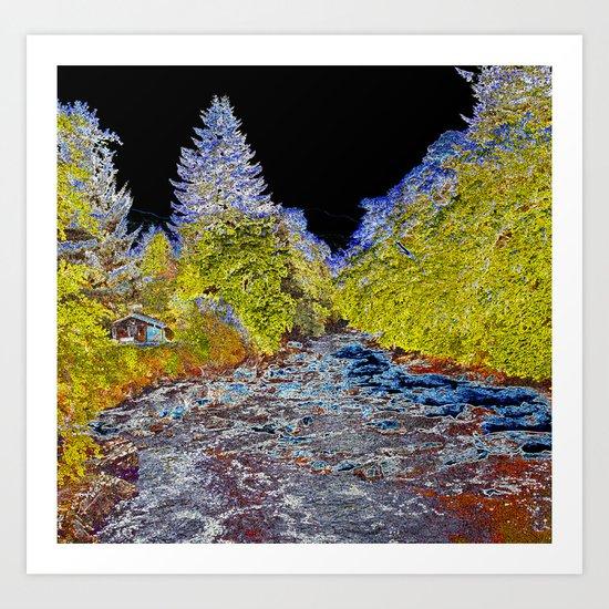 River Art Art Print