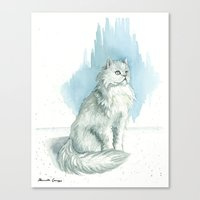 persian Canvas Prints featuring Persian by Priscilla George