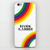 larry stylinson iPhone & iPod Skins featuring Dark Larrie (Larry Stylinson) by Arabella