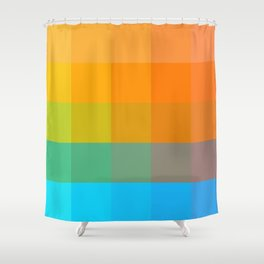 Discovery LP Shower Curtain