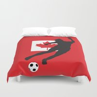 canada Duvet Covers featuring Canada - WWC by Alrkeaton