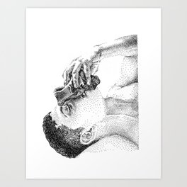 Sniff NOODDOOD Art Print