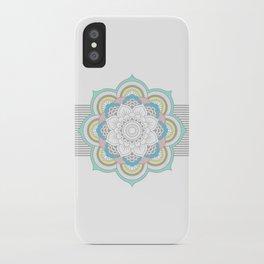 Pastel Mandala iPhone Case