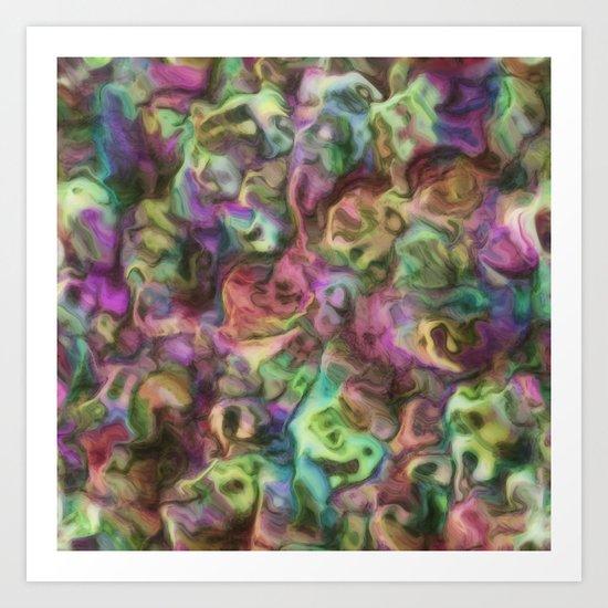 Colour Aquatica  Art Print