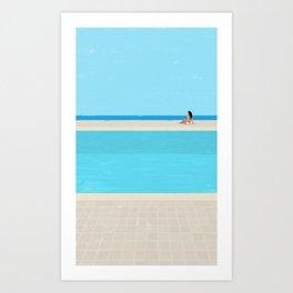 pool-3 Art Print