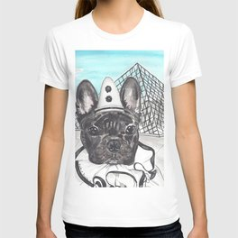 Roscoe the French Clown T-shirt
