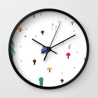 forest flare Wall Clock