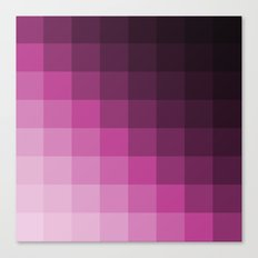 Pixel Gradient Canvas Print