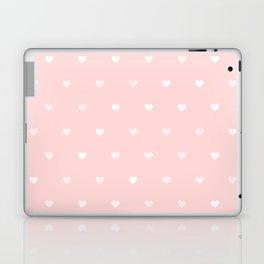 Baby Pink Heart Pattern Laptop & iPad Skin