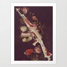 deathbringer *collage Art Print