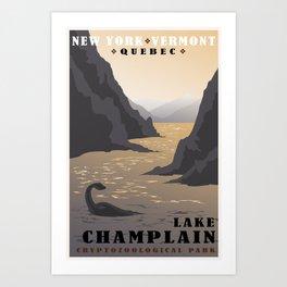 CPS: Lake Champlain Art Print