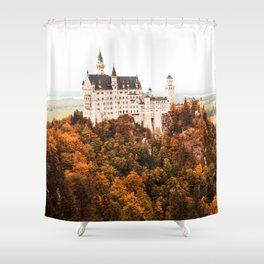 Autumn Castle Shower Curtain