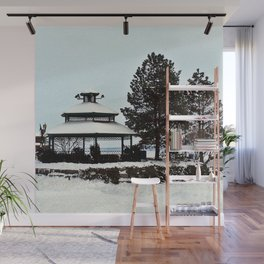 Gazebo on the Lake Wall Mural