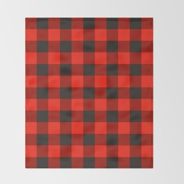 Canadiana Throw Blanket