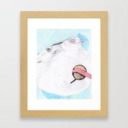 Large Bird Framed Art Print