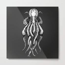 Octopus no 1 Metal Print