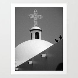 Our Lady of Carmen Art Print