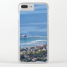Above the Pier Clear iPhone Case