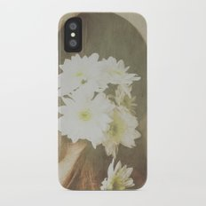 She Had Flowers in Her Hair Slim Case iPhone X