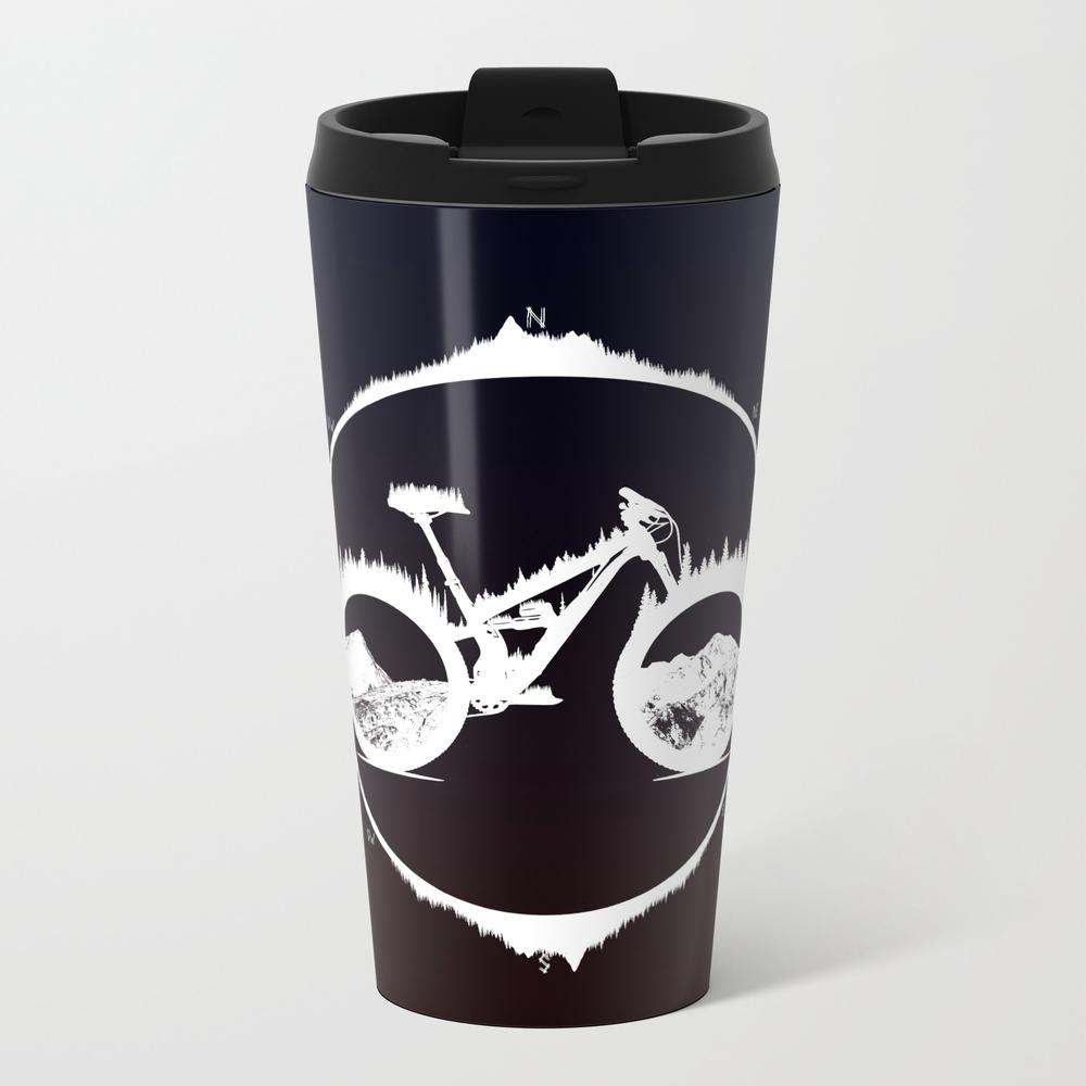 Yety Enduro Metal Travel Mug by Bongonation MTM8879627