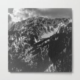 Mt. Townsend Olympic National Park Washington Metal Print