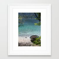 boat Framed Art Prints featuring Boat by L'Ale shop