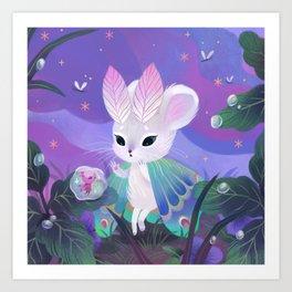 Mousemoth Art Print