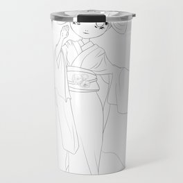 Wagashi line Travel Mug