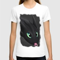 toothless T-shirts featuring Toothless by Alkraas
