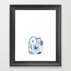 Camera Sketch 5 Framed Art Print
