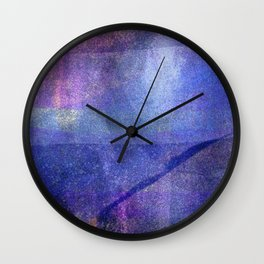 Sky and Space Wall Clock