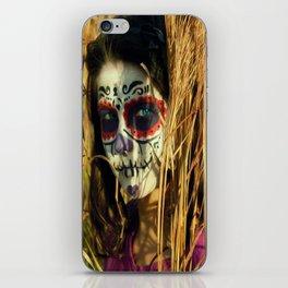 Dia De Los Muertos Gurl iPhone Skin