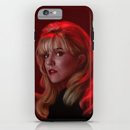 Laura Palmer from Twin Peaks iPhone Case