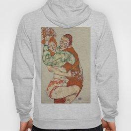 Egon Schiele - Lovemaking Hoody