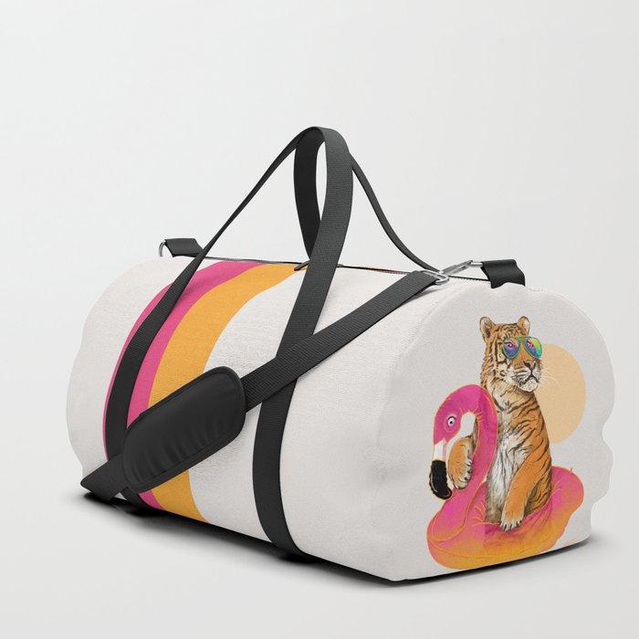 Chillin (Flamingo Tiger) Sporttaschen
